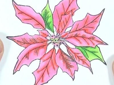 Ideas de Navidad #7 | Coloreando con Twin Markers de First Edition
