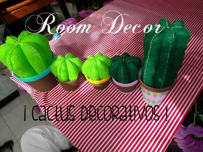 Room Decor | CACTUS DE FIELTRO DECORATIVOS | Uvalove ♥