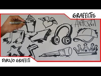 Top 10 Dibujos para Hacer Graffitis   ArtQuit Draw