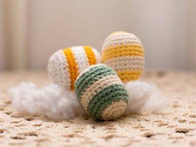 Amigurumi | como hacer huevos de pascua en crochet | Bibiana Mejia Crochet 2017