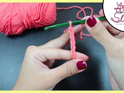 Crochet basics: Cadena. Chain