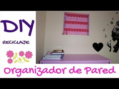 DIY Tablero Organizador para la Pared ***RECICLADO