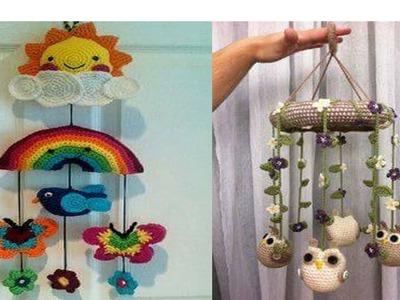 Movil Tejido En Crochet Para Bebe - Tecnica Amigurumi