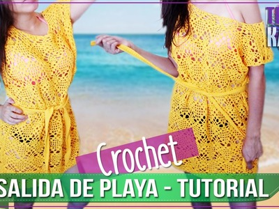 Salida de Playa en Crochet - Tutorial Paso a Paso - PARTE 2 DE 2