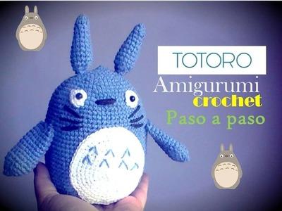 Amigurumi Totoro : Amigurumi totoro paso a paso slugom for