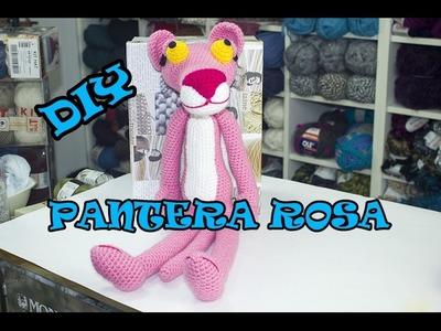 DIY. PANTERA ROSA A CROCHET (PARTE 1)