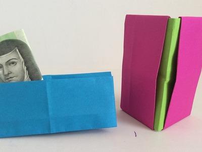 Carteras de papel, manualidades de papel. Figuras de papel.paper figures.