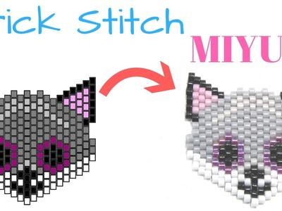 Como hacer un Zorro con Brick Stitch - Miyuki Delica