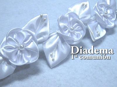 # DIY -  Diadema 1ª Comunión DIY - First Holy Communion Diadem