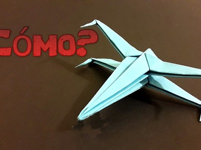 (STAR WARSX-WING)Como hacer una nave de star wars de origami sencilla
