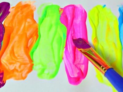 Colores y Pinturas Para niños ????  Coloring For Kids Neon Paints|Mundo de Juguetes