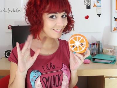 Cómo rematar y coser partes de amigurumi: Terminar tu media naranja ♥
