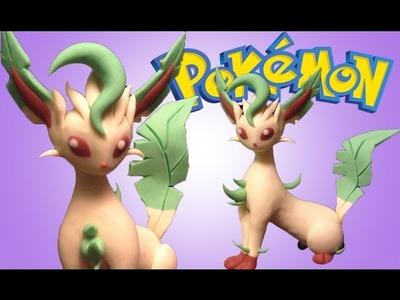 Leafeon Pokémon ???? Polymer Clay