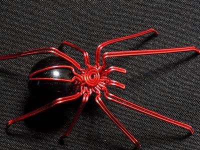 Araña de alambre Tutorial, Wire spider