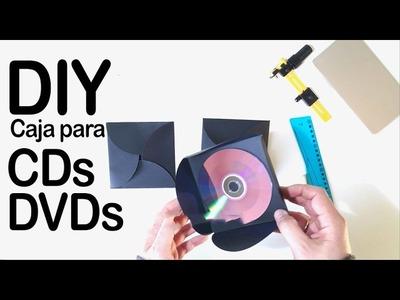 DIY caja para CDs o DVDs   KTX166   DIY