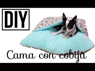 DIY ♥ Cama con cobija ♥ MASCOTAS