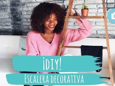 DIY: ESCALERA DECORATIVA NUEVA CASA| ADRIANA BOHO