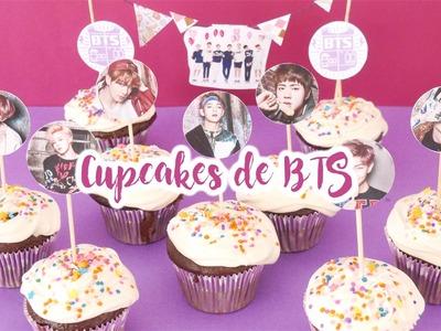 DIY K-POP : Regala Cupcakes de BTS por San Valentin