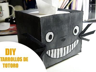 DIY | Portarrollos de Totoro ^^