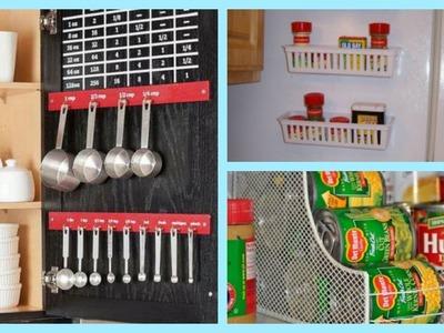 IDEAS PARA ORGANIZAR UNA COCINA PEQUEÑA | DIY KITCHEN IDEAS. COMPILATION