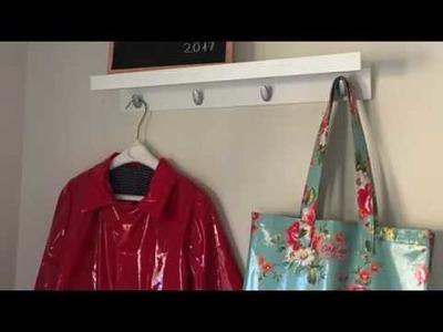 crochet chal de ganchillo crochet shawl ikea hacks perchero laura diy. Black Bedroom Furniture Sets. Home Design Ideas