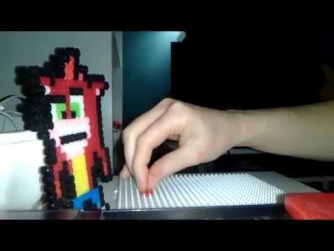Mini Tutorial de como hacer figuras pixeladas o de hama beads