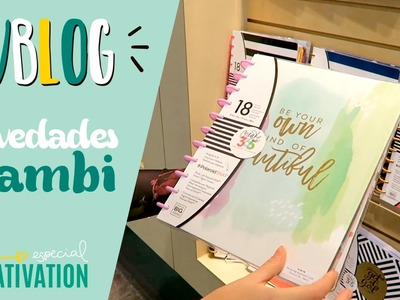Novedades Happy Planner - VBlog Creativation 2017 (Español)