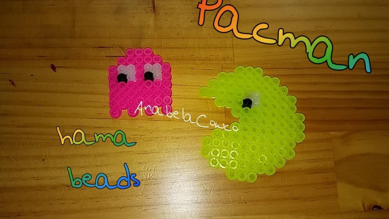 Pacman de hama beads. perler beads PIXELART