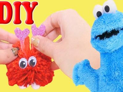 Regalo para San Valentin Crea tu Propio Mounstro Pom Pom DIY Junto a Cookie Monster