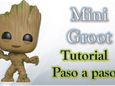 Como hacer a Mini Groot de Plastilina ✅ How to Make Plasticine Groot ✅ Tutorial