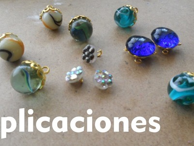 Como hacer ACCESORIOS PARA MANUALIDADES How to Make Accessories for Crafts Tutorial Inerya viris