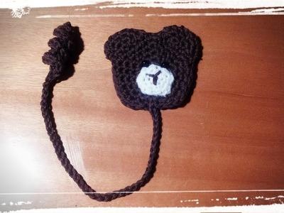 Como hacer un marcapaginas de ganchillo o crochet