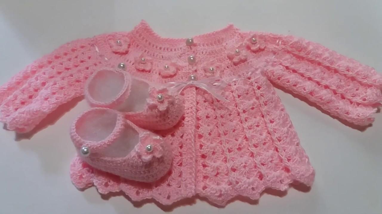 Conjunto para Beba a crochet. Proximamente tutorial