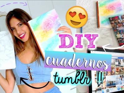 DECORA TUS CUADERNOS DIY !! | Valeria Basurco