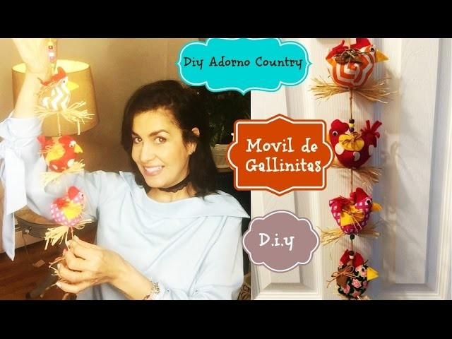 DIY ADORNO de COCINA  COUNTRY | TUTORIAL CON MI HERMANA ♥