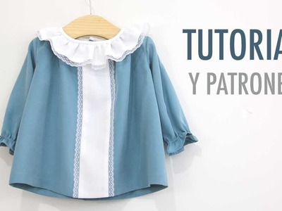 DIY Cómo hacer vestido niña (patrones gratis)