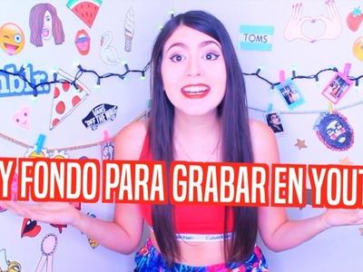 DIY Fondo Para Grabar En Youtube + Ganador Del Sorteo