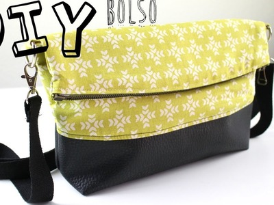 DIY: Tutorial Bolso estilo clutch. PATRONES GRATIS