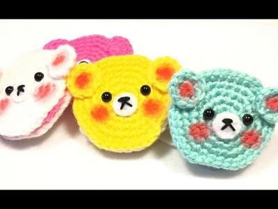 Galletas Tejidas a Crochet. Crochet Cookie Tutorial