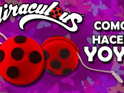 Ladybug Yoyo!!! Tutorial como hacer tu yoyo de Ladybug. DIY