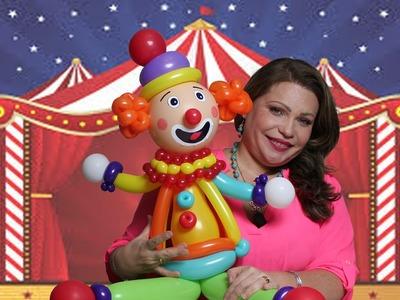 Parte III La Cabeza Payasos Circo y Leones DIY. Balloons Clown Circus The Head