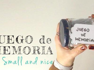 Tutorial DIY - JUEGO DE MEMORIA