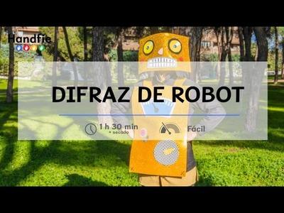 Disfraz de robot · Handfie DIY