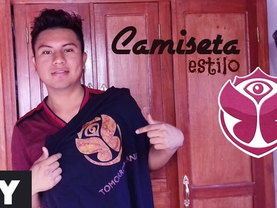 DIY Crea Tu Camiseta Tomorrowland  Fácil || William Gordon