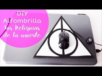 """DIY Harry Potter: Alfombrilla de """"Las Reliquias de la Muerte"""" ⚡️"""