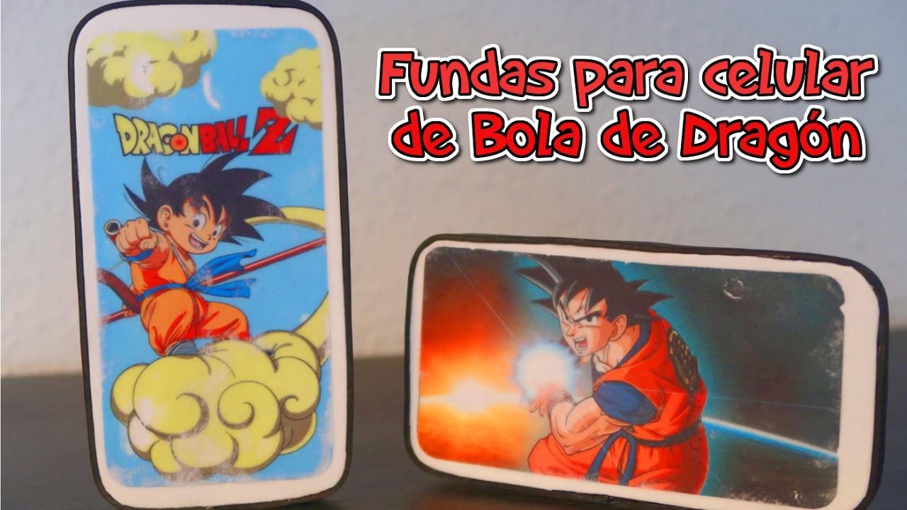 Fundas para celular caseras de Dragon Ball | Dragon Ball DIY