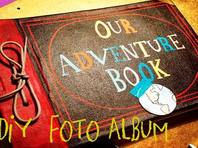 Haz el Album de Aventuras de la Película Up - DIY MY ADVENTURE BOOK from Up