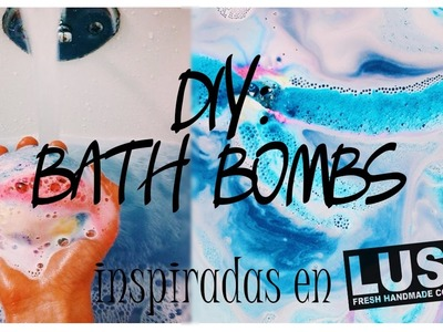 ¡¡DIY HAZ TUS PROPIAS BATH BOMBS COMO LUSH!! || Bella Brocks ||