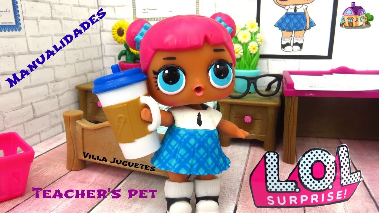 DIY - Haciendo Habitacion para Teacher's Pet    Muñecas L O L