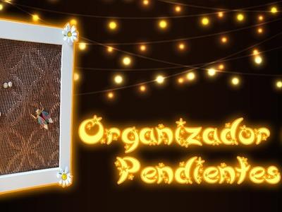 Organizador de pendientes y pins. Jewelry organizer